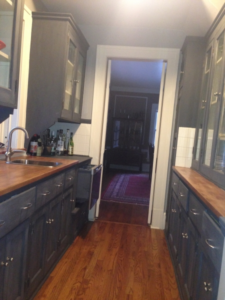 New Sink and Dishwasher in Butler's Pantry